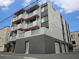 北海道札幌市東区北十八条東13丁目の賃貸マンションの外観