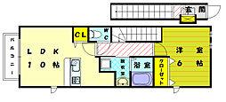 ジョウホープIV[2階]の間取り