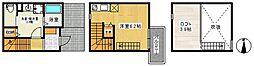 エクセルシアK-1[103号室]の間取り
