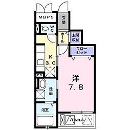 ルミナスハート[3階]の間取り