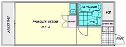 豊国スカイマンション国分[2階]の間取り
