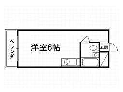 スペース金閣寺[1階]の間取り