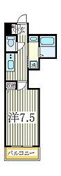 柏808タワー[3階]の間取り