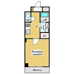 MIOマンション[3階]の間取り