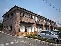愛媛県伊予郡砥部町高尾田の賃貸アパートの外観