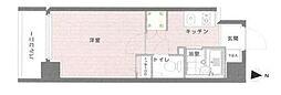 東京都中央区入船1丁目の賃貸マンションの間取り