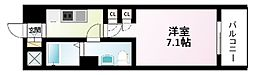 Osaka Metro御堂筋線 江坂駅 徒歩3分の賃貸マンション 8階1Kの間取り