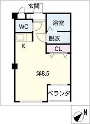 クレストG・Y[2階]の間取り