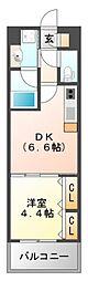 プレジオ江坂[3階]の間取り