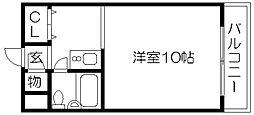 川端ハイツ[314号室]の間取り