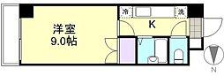 グリーンライフ倉敷[201号室]の間取り