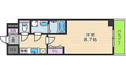 レオンコンフォート桜ノ宮[7階]の間取り