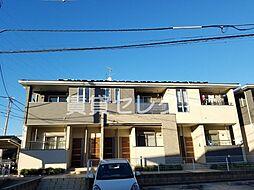 千葉県松戸市幸田5丁目の賃貸アパートの外観