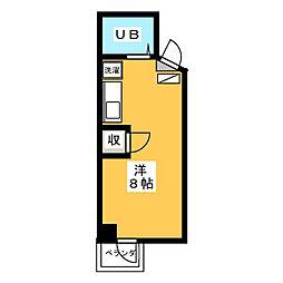 ROA Buil ANNEX[4階]の間取り