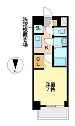 プレサンス丸の内レジデンスIII[3階]の間取り