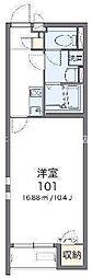 岡山県総社市三輪丁目なしの賃貸アパートの間取り