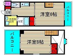 タレイア日本橋[1階]の間取り