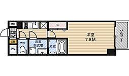 プレサンス新大阪ザ・デイズ[11階]の間取り