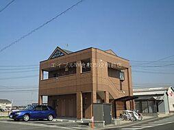 岡山県総社市中原丁目なしの賃貸マンションの外観