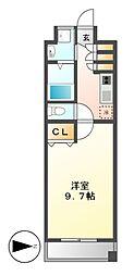 プロシード千代田[5階]の間取り