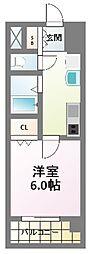 プレミアムステージ新大阪駅前II[5階]の間取り