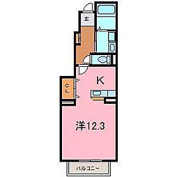 プリムローズS[1階]の間取り