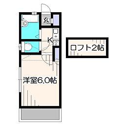 SaKa[1階]の間取り
