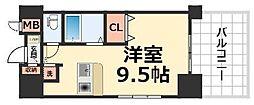 アーデン塚口[7階]の間取り