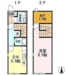 [テラスハウス] 東京都西東京市東町4丁目 の賃貸【/】の間取り