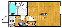 KTマンション[210号室号室]の間取り