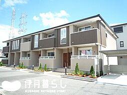 兵庫県伊丹市荒牧南4丁目の賃貸アパートの外観