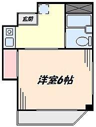 第62シンエイビル[3階]の間取り