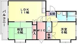 ARK壱番館[3階]の間取り