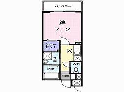 ネオ・グランツ高井田[3階]の間取り