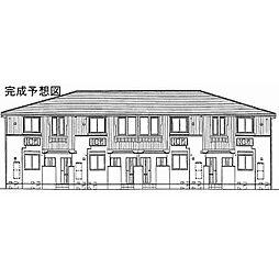 奈良県奈良市中山町西の賃貸アパートの外観