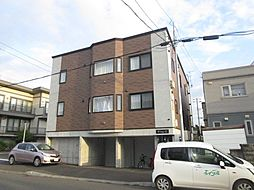 北海道札幌市東区北丘珠四条2丁目の賃貸アパートの外観