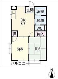 K,S HOUSE[1階]の間取り