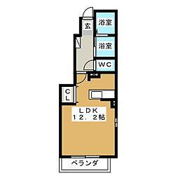 シーズ メゾン I[1階]の間取り