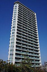 目黒川沿いのタワーレジデンスプリズムタワー
