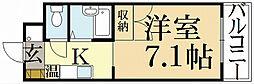 フォスマット松ヶ崎[1階]の間取り