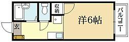 シャトレナカイ北園町[1階]の間取り