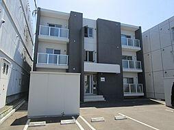 北海道札幌市東区北二十条東13丁目の賃貸マンションの外観
