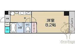 TTH東梅田[11階]の間取り