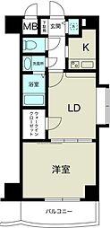 ノルデンタワー新大阪[10階]の間取り