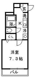 アクアコート[3階]の間取り