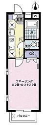 SOL・BRILLO・HIRO[2階]の間取り