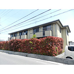 滋賀県近江八幡市多賀町の賃貸アパートの外観