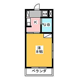 プリムローズY[3階]の間取り