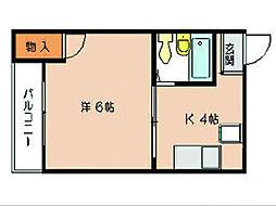 アニーマンション[2階]の間取り