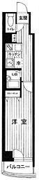 東京都中央区日本橋堀留町2丁目の賃貸マンションの間取り